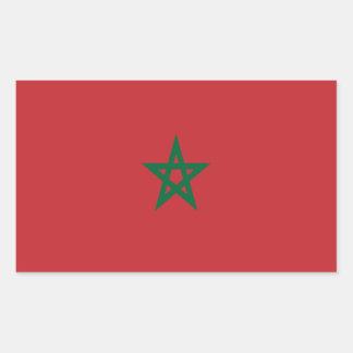 Flag of Morocco Rectangular Sticker