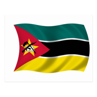 Flag of Mozambique Postcard