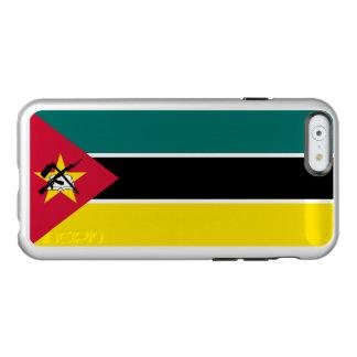 Flag of Mozambique Silver iPhone Case Incipio Feather® Shine iPhone 6 Case
