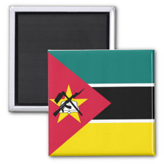 Flag of Mozambique Square Magnet
