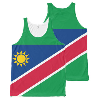 Flag of Namibia All-Over Print Tank Top