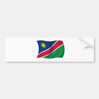 Flag of Namibia Bumper Sticker
