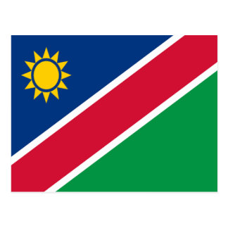Flag of Namibia Postcard