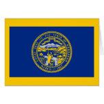 Flag of Nebraska Greeting Card
