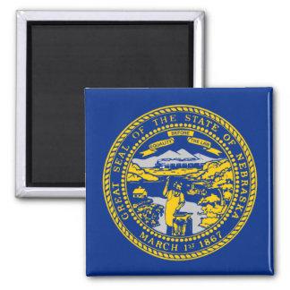 Flag of Nebraska Refrigerator Magnet