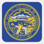 Flag of Nebraska Stickers