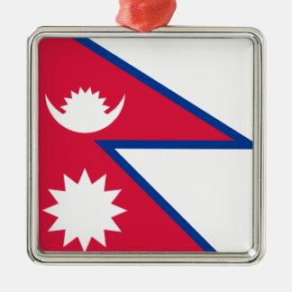 Flag of Nepal Christmas Ornament