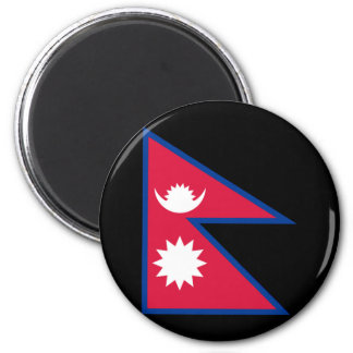 Flag of Nepal Fridge Magnets
