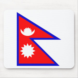 Flag of Nepal Mousepads