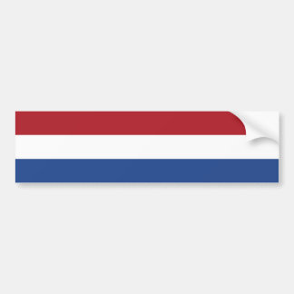 Flag of Netherlands Bumper Sticker