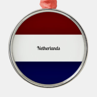 Flag of Netherlands Christmas Ornament