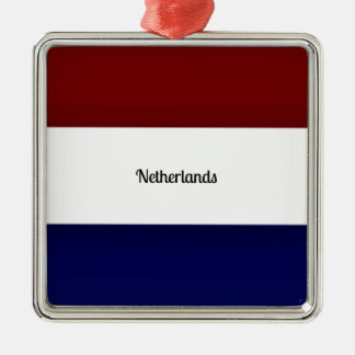Flag of Netherlands Christmas Ornament