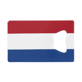 Flag of Netherlands Credit Card Bottle Opener