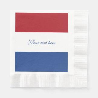 Flag of Netherlands Disposable Serviette