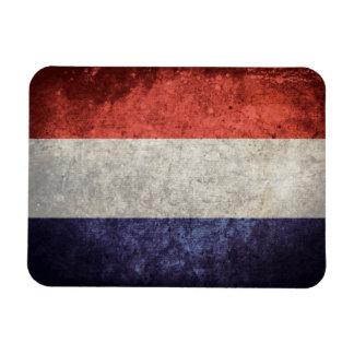 Flag of Netherlands Rectangular Photo Magnet