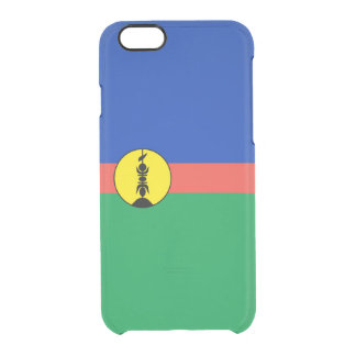 Flag of New Caledonia Clear iPhone Case