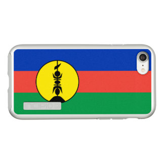 Flag of New Caledonia Silver iPhone Case