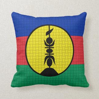 Flag of New Caledonia Throw Cushion