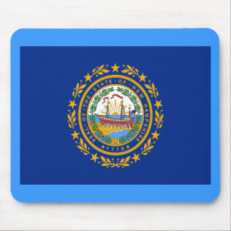 Flag of New Hampshire Mouse Pads