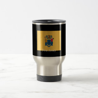 Flag of New Jersey 15 Oz Stainless Steel Travel Mug