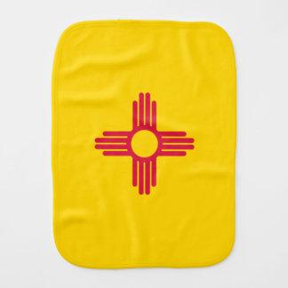 Flag of New Mexico Burp Cloth