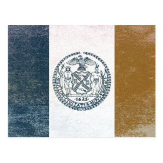 Flag of New York Postcard