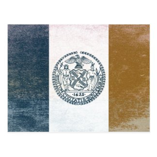 Flag of New York Post Cards