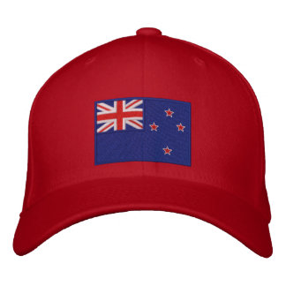 Flag of New Zealand Embroidered Baseball Caps