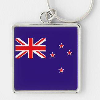 Flag of New Zealand Key Ring