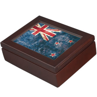 Flag of New Zealand Memory Boxes
