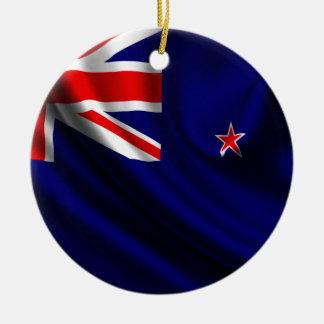 Flag of New Zealand, New Zealand Flag Christmas Ornament