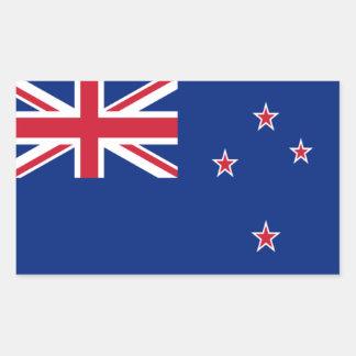 Flag of New Zealand Rectangular Sticker