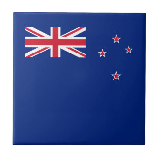 Flag of New Zealand Small Square Tile