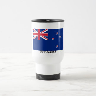 Flag of New Zealand Stainless Steel Travel Mug