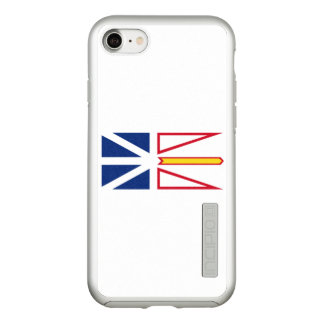 Flag of Nfld. and Labrador Silver iPhone Case