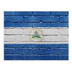 Flag of Nicaragua Postcard