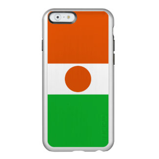 Flag of Niger Silver iPhone Case