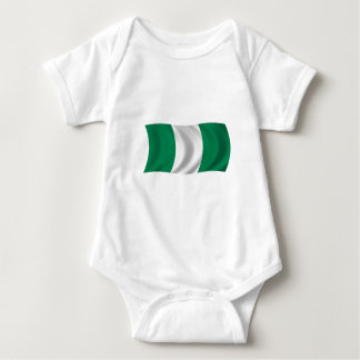 Flag of Nigeria Baby Bodysuit