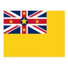 Flag of Niue Postcard