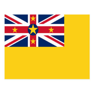 Flag of Niue Postcard
