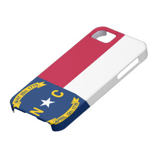 Flag of North Carolina Barely There iPhone 5 Case