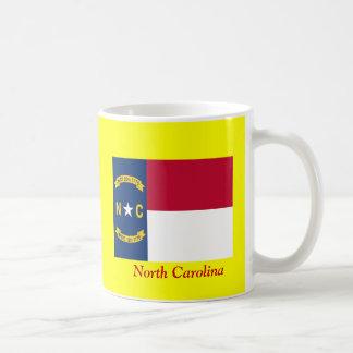 Flag of North Carolina Basic White Mug