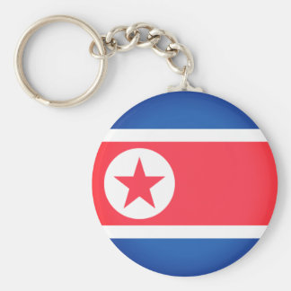 Flag of North Korea Key Ring
