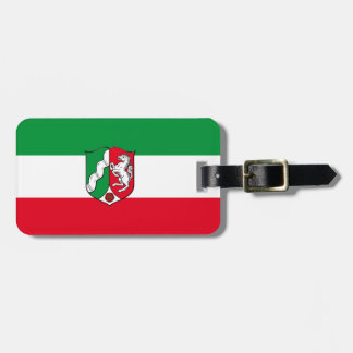 Flag of North-Rhine Westphalia Luggage Tag