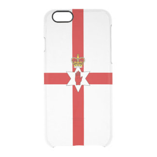 Flag of Northern Ireland Clear iPhone Case
