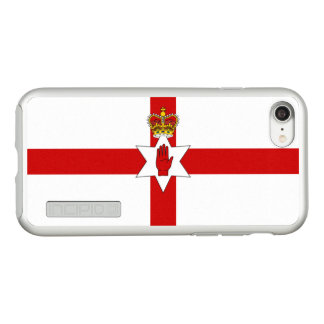 Flag of Northern Ireland Silver iPhone Case