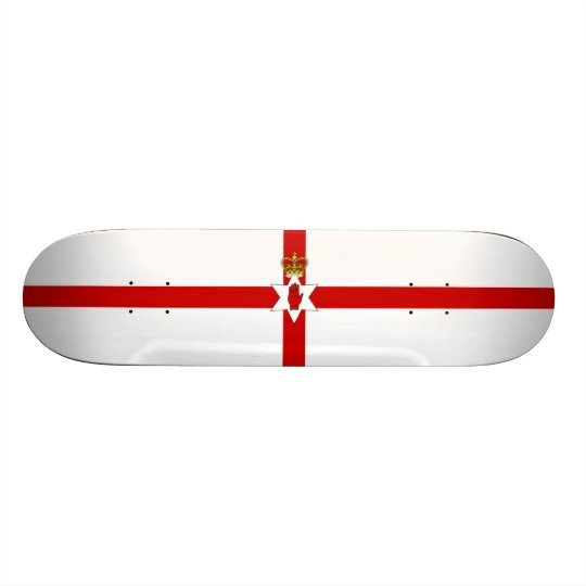 Flag of Northern Ireland Skateboard Deck