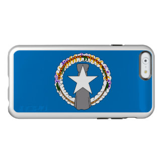 Flag of Northern Mariana Is. Silver iPhone Case
