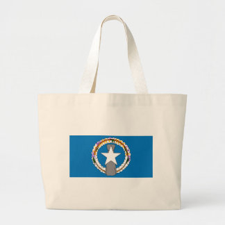 Flag Of Northern Mariana Islands (USA) Large Tote Bag