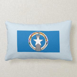 Flag Of Northern Mariana Islands (USA) Lumbar Pillow